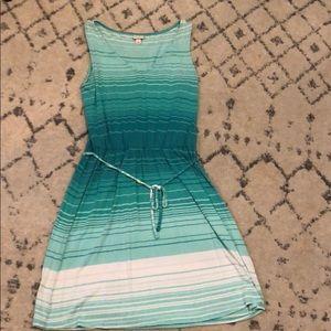 Women's Merona Dress - green - medium